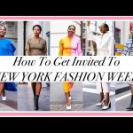 HOW TO GET INVITED TO NEW YORK FASHION WEEK 2020